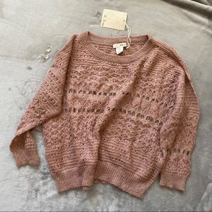 NWT M.Rena Sweater Knit Top in Small